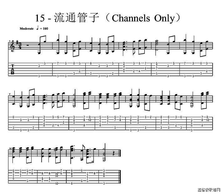 s Only 吉他独奏谱基督教简谱网歌谱网